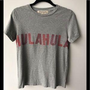 VINTAGE Ron Herman Remi Relief Grey T Shirt 💞